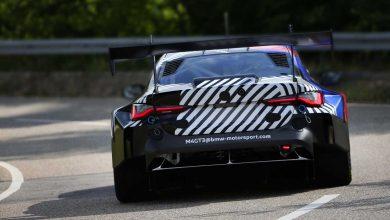 Photo of BMW M4 GT3, ovdje je u pregledu sa ultra širokim stražnjim dijelom