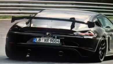 Photo of Porsche Cayman GT4 RS, špijunske fotografije dolaze s Nurburgringa