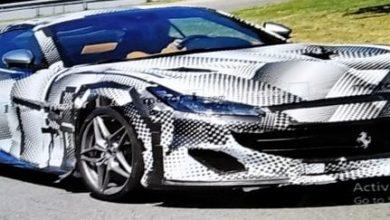 Photo of Restiling Ferrarija Portofina, špijunske fotografije prototipa na cesti
