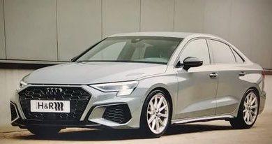 Photo of H&R sportske opruge za kompaktni sportski automobil Audi S3