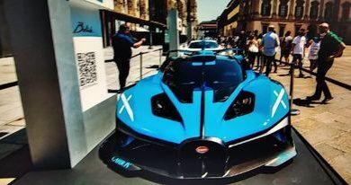 Photo of Bugatti Bolide, licem u lice sa hiper automobilom na stazi